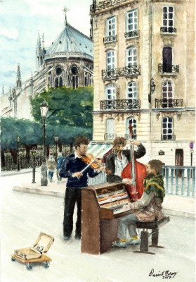 66 french buskers